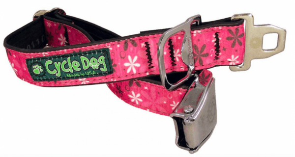 Cycle Dog Hot Pink latch lock collar