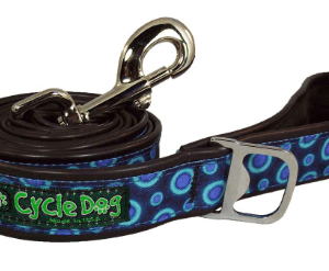 Cycle Dog Blue Space Dots dog leash