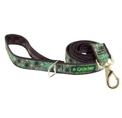 Cycle Dog waterproof Mint retro dog leash