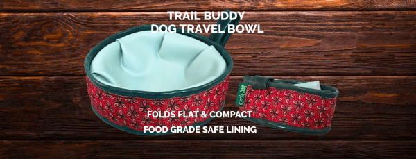 Cycle Dog trail buddy travel bowl