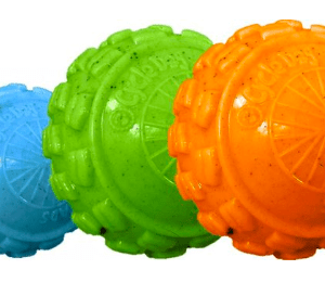 Cycle Dog High Roller dog ball with internal squeaker