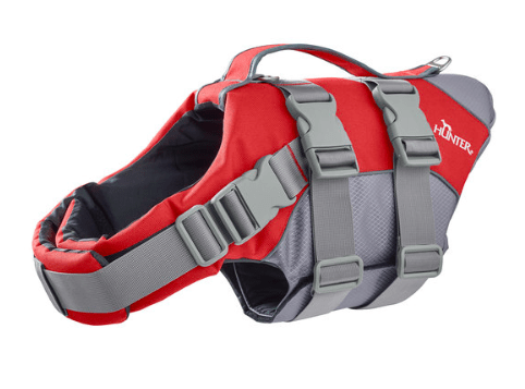 Hunter Moss dog life safety jacket