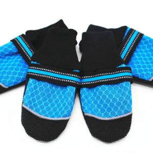 Dog shoes anti slip breathable mesh