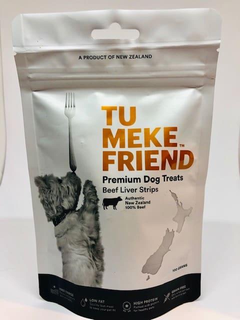 Tu Meke free range liver strips