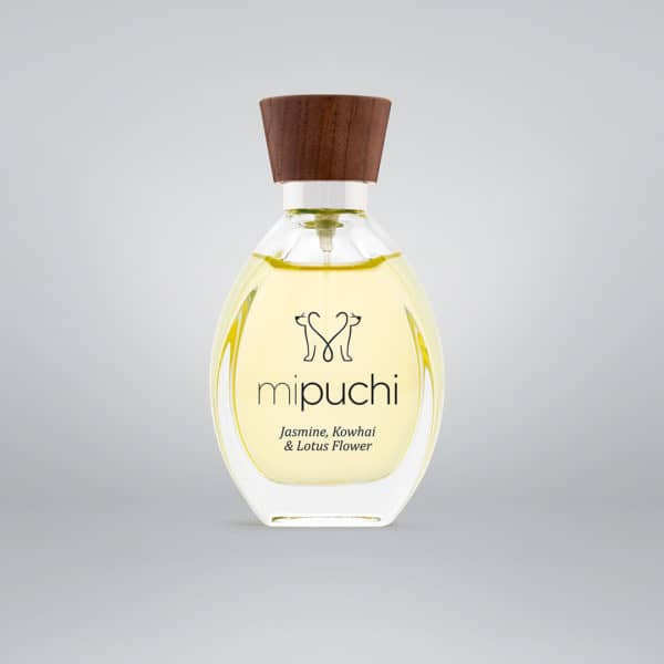 mipuchi Jasmine, Kowhai, Lotus Flower perfume for dogs