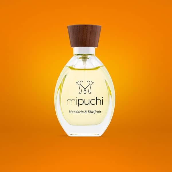mipuchi Mandarin and Kiwifruits perfume for dogs