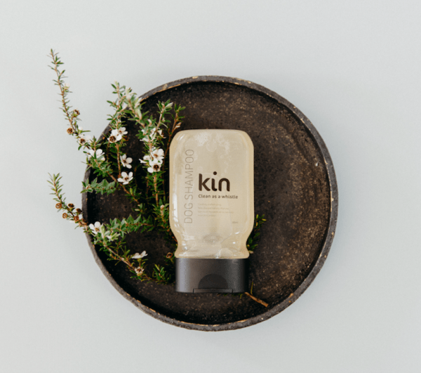 Kin dog shampoo clean as a whistle