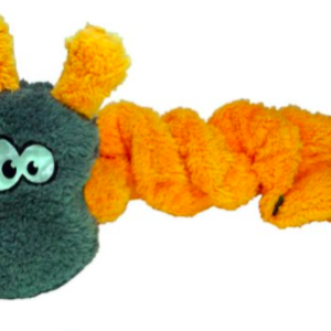Cycle Dog Springy Coil Caterpillar dog toy