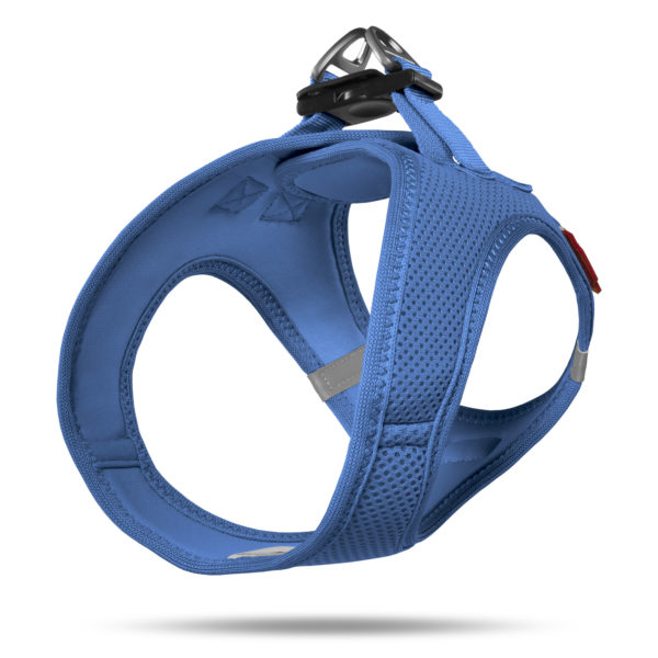 Curli Air Mesh comfort harness blue