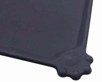 Silicone pet bowl mat