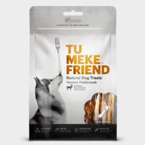 Tu Meke Friend dog treats Venison Paddywack 100g