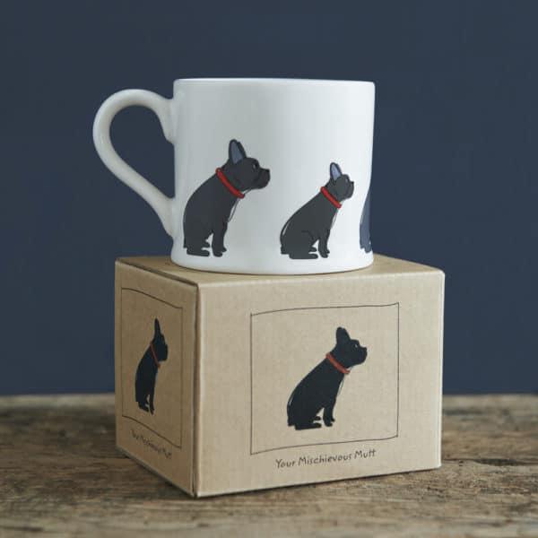 French Bull dog mug - Mischievous Mutt