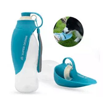 Super Design leaf dog water bottle