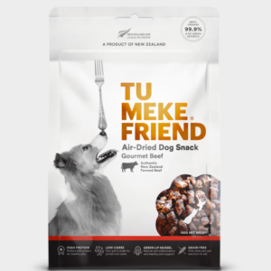 Tu Meke Friend Air Dried Dog Snack Gourmet Beef 150gm