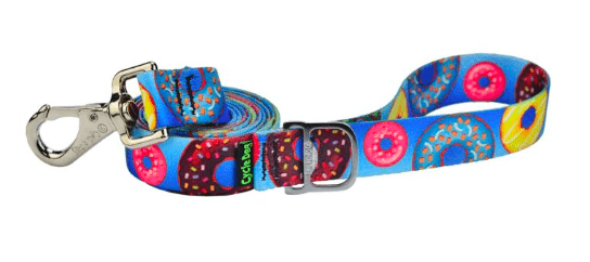 Cycle Dog dog lead eco weave Donut's made from recycled plastic bottles