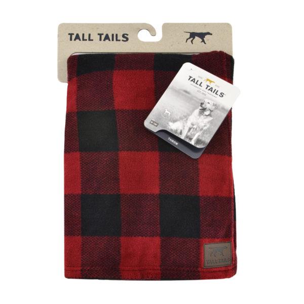 Tall Tails dog blanket soft fleece Hunters Plaid throw