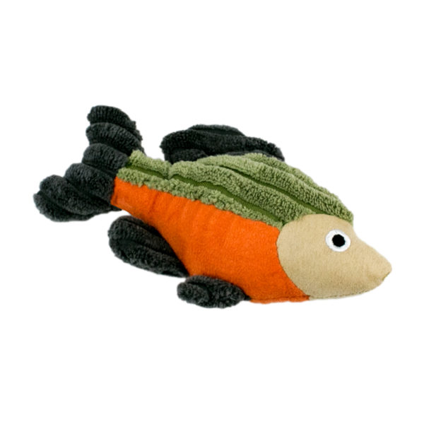 Tall Tail squeaky fish toy for small dogs