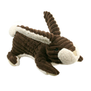 Tall Tails plush squeaky Rabbit dog toy