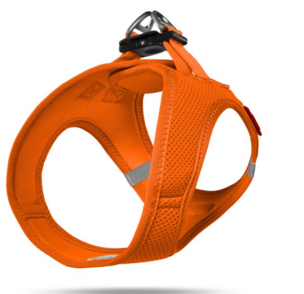 Curli Vest Comfort dog harness orange