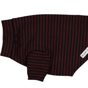 Mr Soft Top Luxury Stripe dog Merino