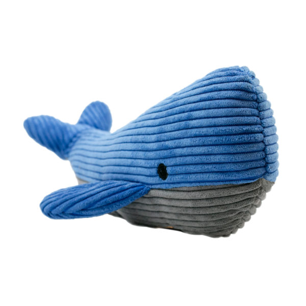 Tall Tails Whale Squeaker to dog toy