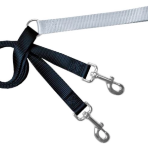 2 Hounds Euro training leash Black