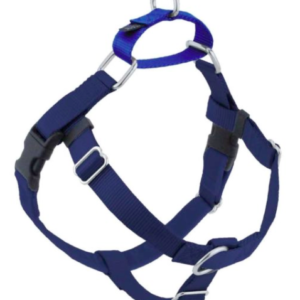 2 Hounds Freedom No-Pull dog Harness Navy