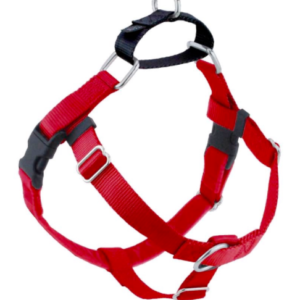 2 Hounds Freedom No Pull dog Harness Red