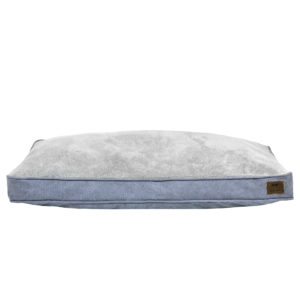 Tall Tails dog cushion bed reversible charcoal