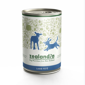 Zealandia Lamb Pate grain free dog food 385g