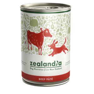 Zealandia Beef Pate grain free dog food