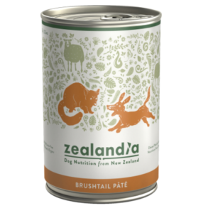 New Zealandia Wild Brushtail Pate grain free dog food 385g