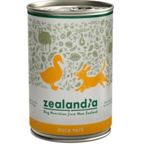 Zealandia Duck Pate grain free dog food 385g