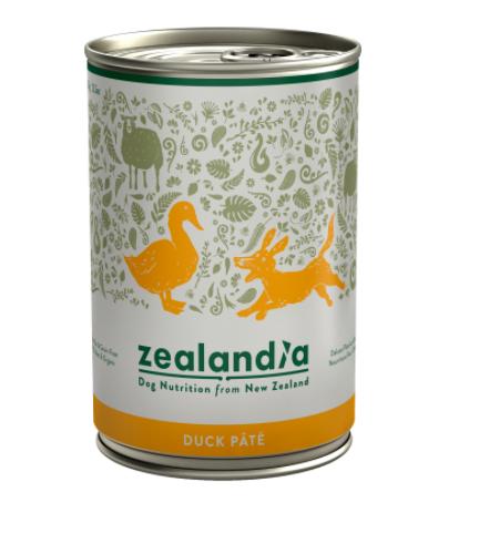 Zealandia Duck Pate grain free dog food 385g
