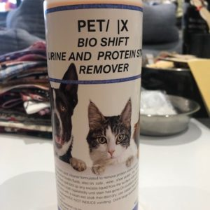 Pet urine and stain remover