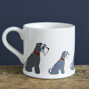 Sweet William Schnauzer Mug - Mischievous Mutts