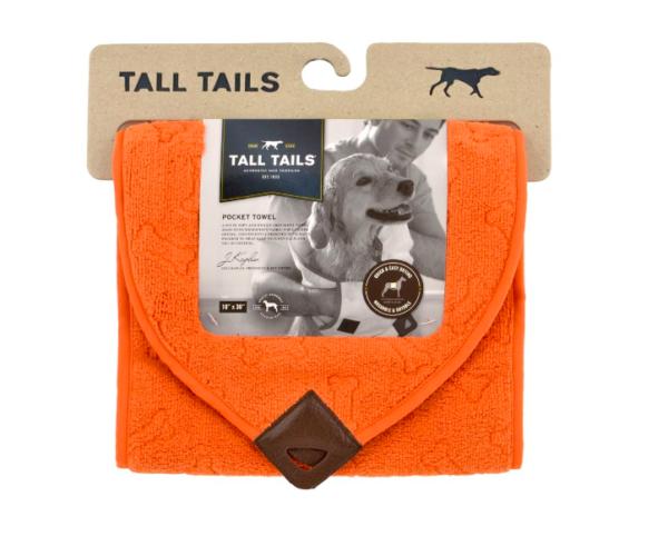 Tall Tails Pocket Dog Towel