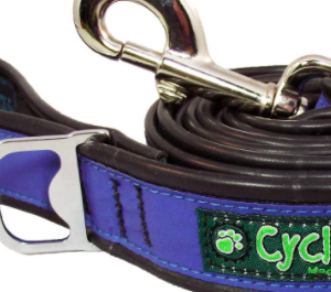 cycle dog waterproof and highly reflective lead