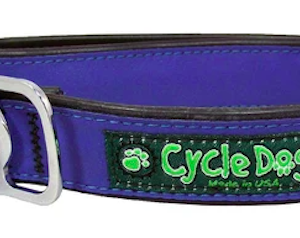 cycle dog waterproof and highly reflective collar