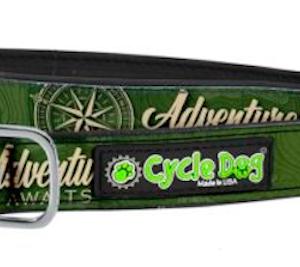 Cycle Dog waterproof dog collar adventure awaits