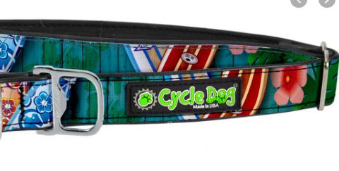 Cycle Dog waterproof dog collar Surfboards