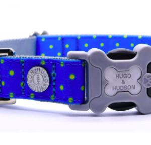 Hugo and Hudson blue Polka Dot