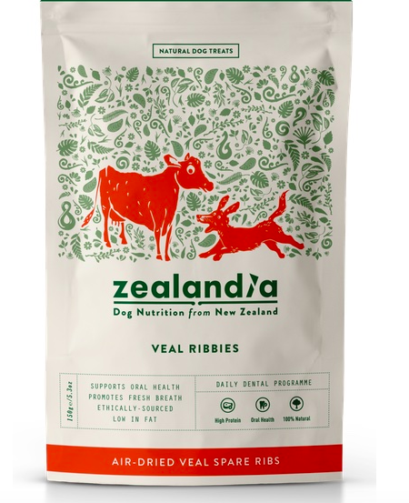 Zealandia Veal Ribbies 150g