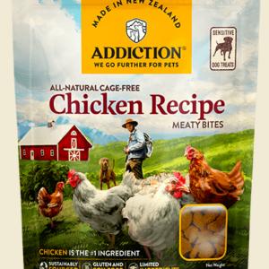 Addiction Chicken Meaty Bites 113g