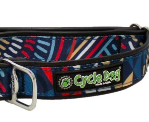 Cycle Dog collar waterproof Multi Modern Art