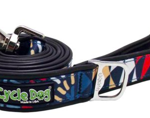 Cycle Dog lead waterproof with bottle opener Multi Modern Art