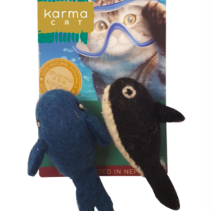 Kharma Cat pure wool toys