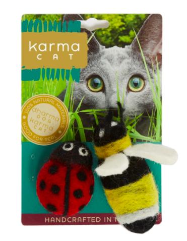 Karma Cat pure wool cat toys
