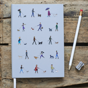 Sweet William Dog walkers Note Book