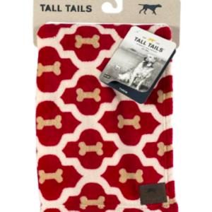 Tall Tails dog blanket soft fleece Red Bone